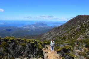 Climbing Mount Wellington, Tasmania