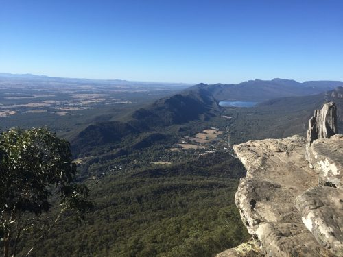 View from Mt. Difficult, The Grampians National Park