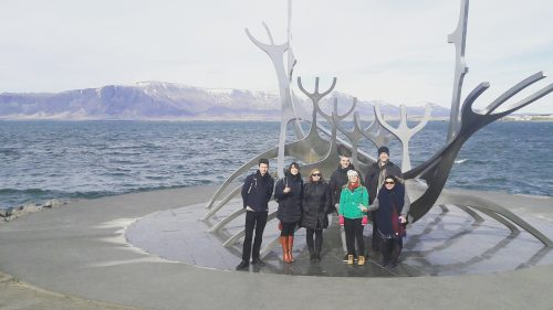 Exploring the Centre of Reykjavik