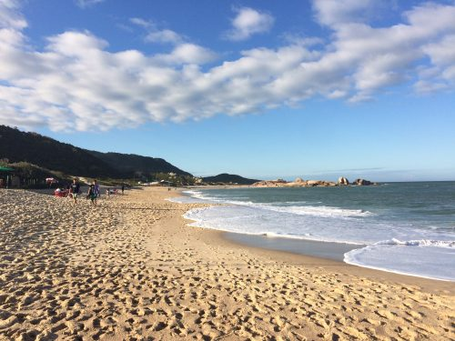 Praia Joaquina; one of the amazing beaches on the island