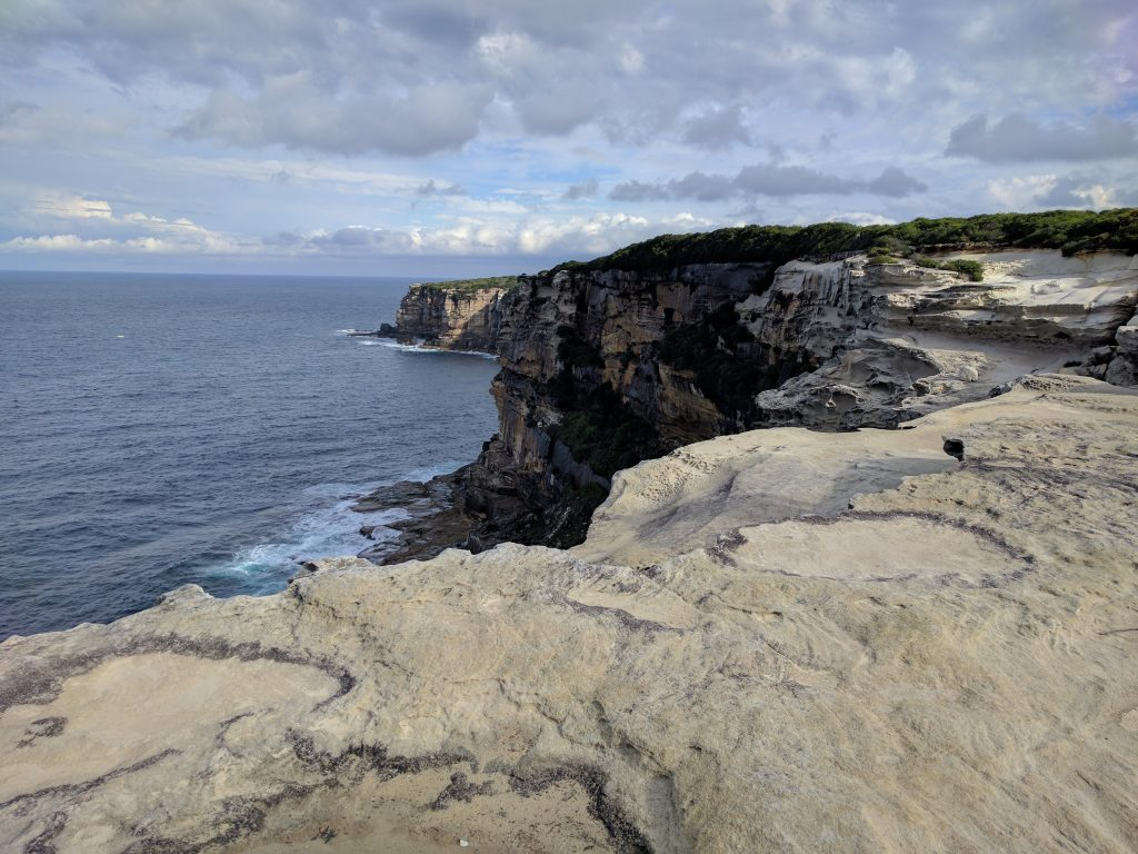The closest national park to Sydney. I also saw migrating humpback whales!!